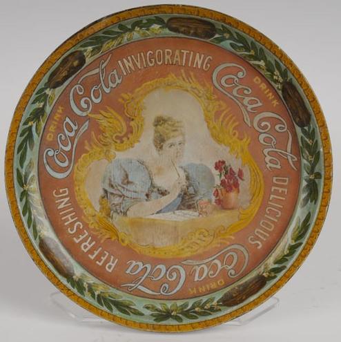 1899 Coca-Cola Hilda with Pen Tray