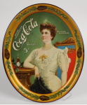 1905 Coca-Cola Lillian Nordica with Bottle Tray