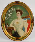 1905 Coca-Cola Lillian Nordica with Bottle Tray