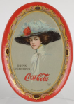 1910 Coca-Cola The Coca-Cola Girl Change Tray