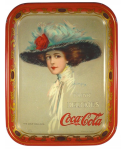 1910 Coca-Cola The Coca-Cola Girl Serving Tray