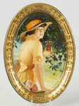 1916 Coca-Cola Elaine Change Tray