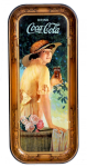 1916 Coca-Cola Elaine Long Rectangular Tray