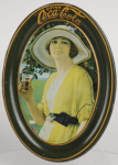 1920 Coca-Cola Golfer Girl Change Tray