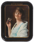 1923 Coca-Cola Flapper Girl Tray