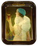 1925 Coca-Cola Party Girl Tray