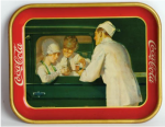 1927 Coca-Cola Curb Service Tray