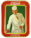1927 Coca-Cola Soda Jerk Tray