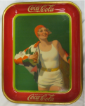 1930 Coca-Cola Bather Girl Tray