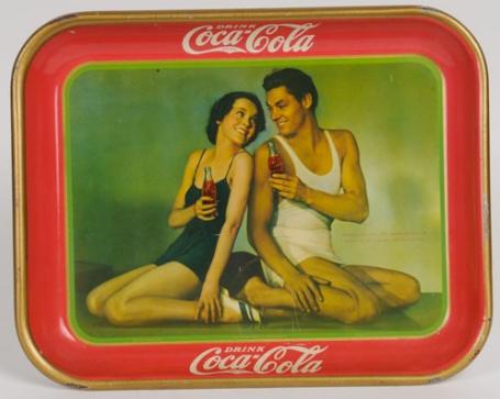 1934 Coca-Cola Tarzan Tray