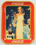 1935 Coca-Cola Madge Evans Tray