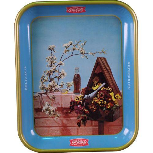 1957 Coca-Cola Birdhouse Tray
