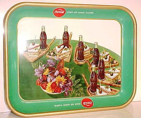 1957 Coca-Cola Sandwich Tray
